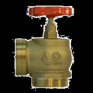Клапан 65 мм, латунь (угловой, 90 градусов) КПЛМ 65-2 (цапка-цапка)