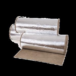 МБОР (ВМБОР, ПМБОР) - 5Ф, 8Ф, 10Ф, 13Ф - 60ф базальтовая огнезащитная теплоизоляция, фольгированная