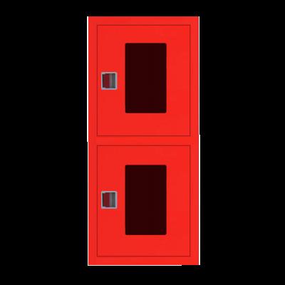 Шкаф пожарный ШПК 320-21 ВОК встроенный, открытый, красный
