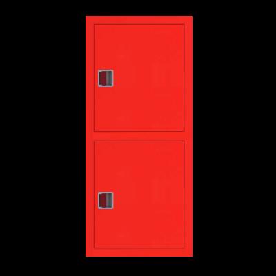 Шкаф пожарный ШПК 320-21 ВЗК встроенный, закрытый, красный