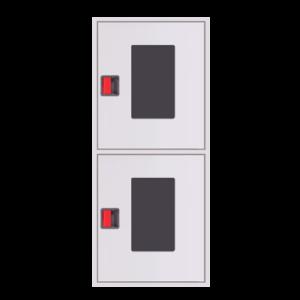 Шкаф пожарный ШПК 320 НОБ навесной, открытый, белый