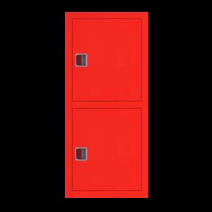 Шкаф пожарный ШПК 320 ВЗК встроенный, закрытый, красный