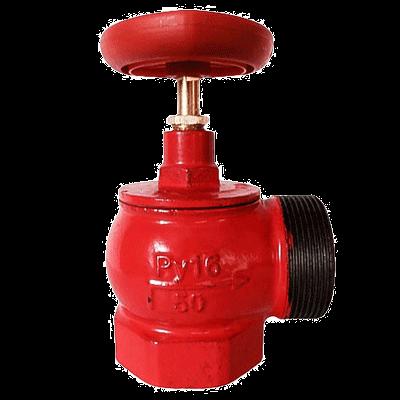 Клапан 65 мм, чугун (угловой, 90 градусов) КПЧМ 65-1 (муфта-цапка)