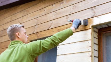 Cредства для обработки домов из дерева