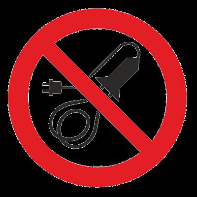 Знак - Запрещается пользоваться электронагревательными приборами Р-36