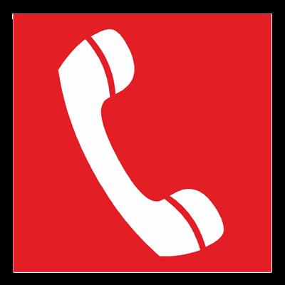 Знак - Телефон для использования при пожаре F05