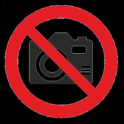 Знак - Фото и видеосъемка запрещена Р-40