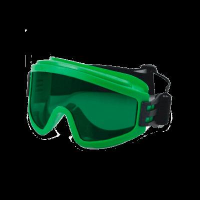Очки защитные с непрямой вентиляцией Росомз ЗН11 PANORAMA StrongGlass (3 PC)